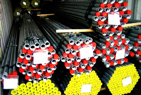 ASTM A312 TP 347 Stainless Steel Welded Pipe packed at New Eagle Industrial Corporation Factory