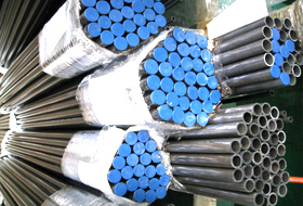 ASTM A312 TP 316 Stainless Steel Welded Pipe packed at New Eagle Industrial Corporation Factory