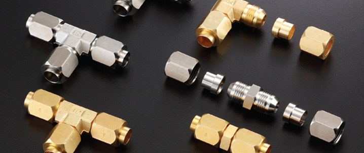 Copper pipe compression fittings manufacturer tube