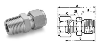 Male Connector specification