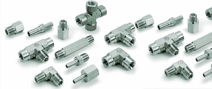 Stainless Steel 304 Tube Fittings ASTM A182